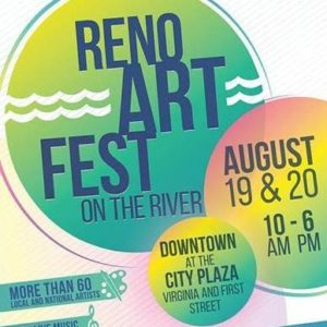 Sierra Arts Gallery presents: Reno Art Fest on the River @ Sierra Arts Gallery | Reno | Nevada | United States