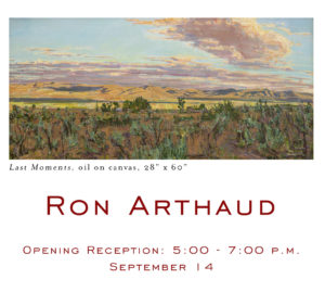 Stremmel Gallery presents: Works from Ron Arthaud @ Stremmel Gallery | Reno | Nevada | United States