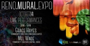 The Eddy presents: Reno Mural Expo: Songwriters Session w/ Grace Hayes & Mel Wade @ The Eddy | Reno | Nevada | United States