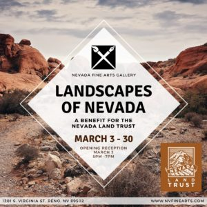 Nevada Fine Arts presents: Landscapes of Nevada @ Nevada Fine Arts | Reno | Nevada | United States
