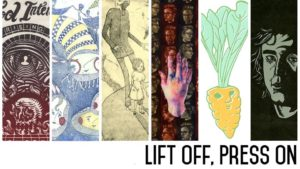 The Potentialist Workshop presents: Laika Press: Lift Off, Press On @ The Potentialist Workshop | Reno | Nevada | United States