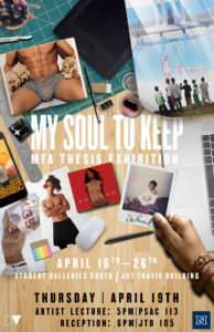 DePaul Vera: My Soul To Keep @ Student Galleries South, Jot Travis Building | Reno | Nevada | United States