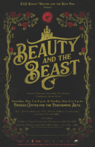 A.V.A. Ballet presents: Beauty and the Beast @ Pioneer Center for the Performing Arts | Reno | Nevada | United States