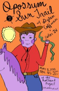 Holland Project presents: Opossum Sun Trail, Color TV, Dylan Coffman @ Holland Project | Reno | Nevada | United States
