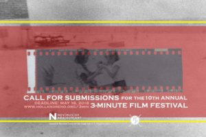 10th Annual 3-Minute Film Competition @ Nevada Museum of Art | Reno | Nevada | United States