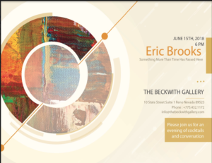 The Beckwith Gallery presents: Eric Brooks: Something More Than Time Has Passed Here @ The Beckwith Gallery | Reno | Nevada | United States