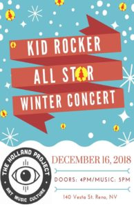 Kid Rocker All Star Winter Concert @ Holland Project