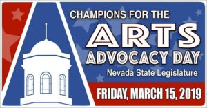 Champions for the Arts Advocacy Day @ Nevada State Legislature Building
